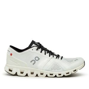 ON CLOUD Men's Cloud X Running Shoes SZ 10 White Black